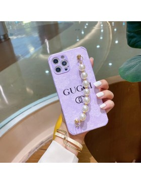 Gucci iPhone Case Slim Soft Cover Colorful With Chain