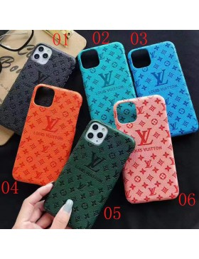 Louis Vuitton iPhone 11 12 13 Series Case Embossing Cover
